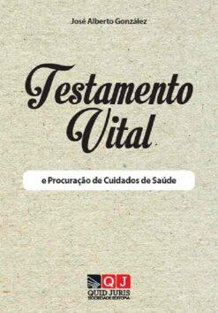 capa do livro Testamento Vital