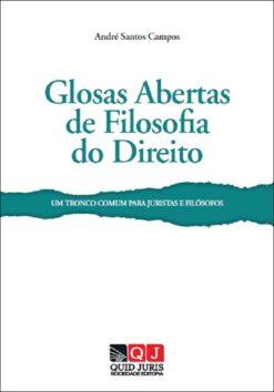 capa do livro Glosas Abertas de Filosofia do Direito