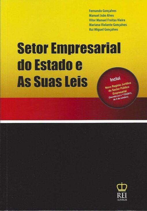 capa do livro Setor Empresarial do Estado e As Suas Leis