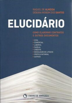 capa do livro Elucidário