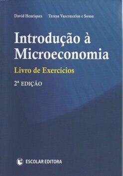 capa do livro Introdução à microeconomia
