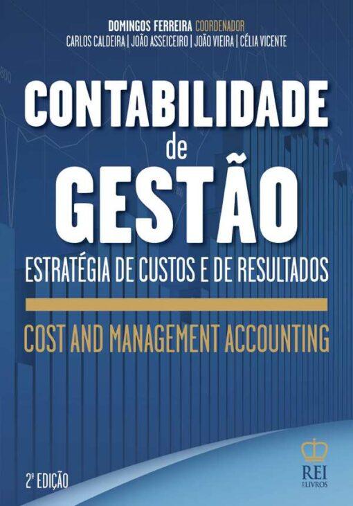 Capa do livro Contabilidade de Gestão Cost and Management Accounting