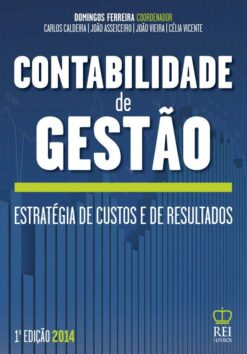 Capa do Livro Contabilidade de Gestão