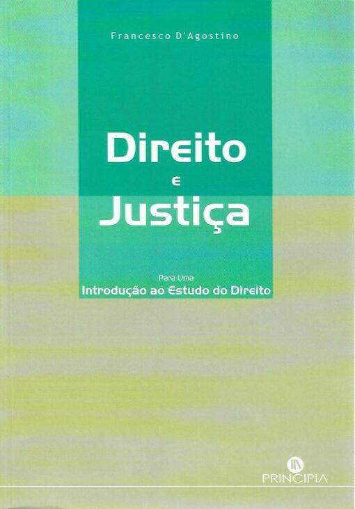 capa dp livro Direito e Justiça