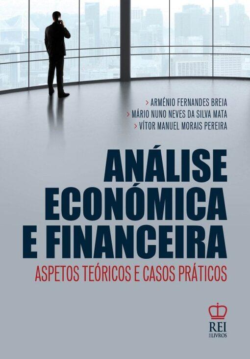 capa do livro Análise Económica e Financeira