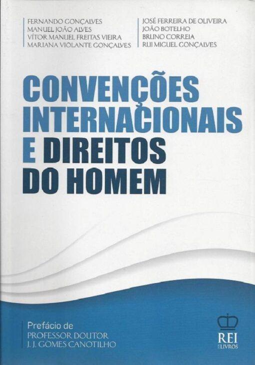 capa do livro Convenções Internacionais e Direitos do Homem