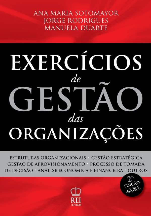 Capa Exercícios de Gestão das Organizações