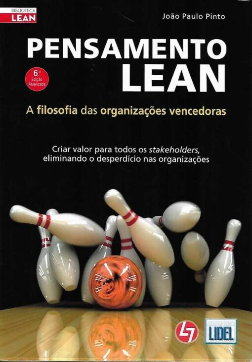 capa do livro Pensamento Lean