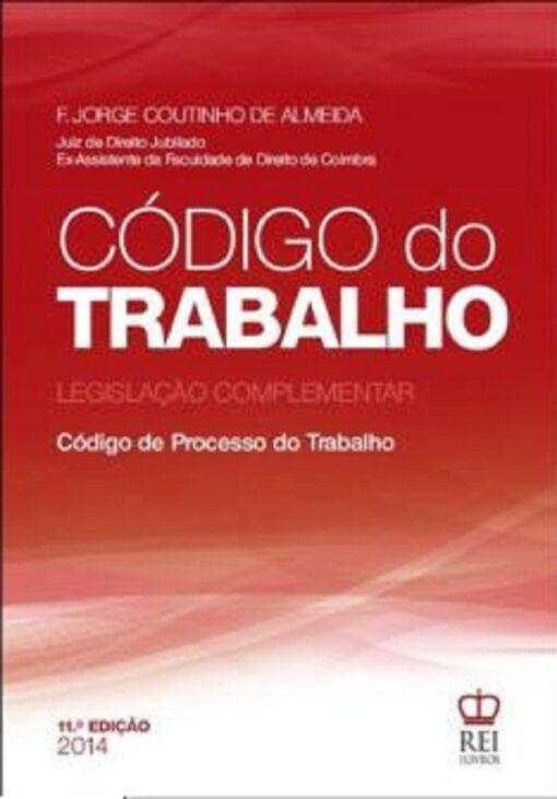 capa do livro Codigo do Trabalho