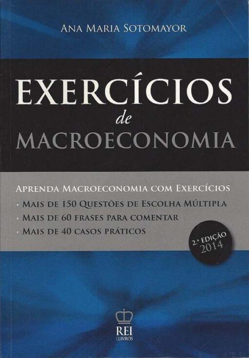 capa do livro Exercícios de Macroeconomia