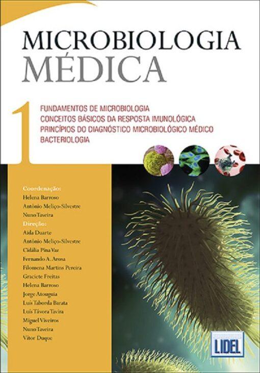 capa do livro Microbiologia Médica