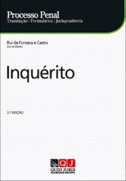 capa do livro Processo Penal - Inquérito