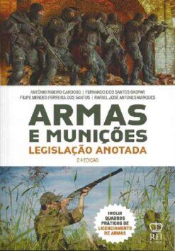 capa do livro Armas e Munições