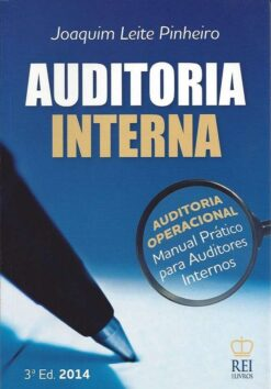capa do livro Auditoria Interna