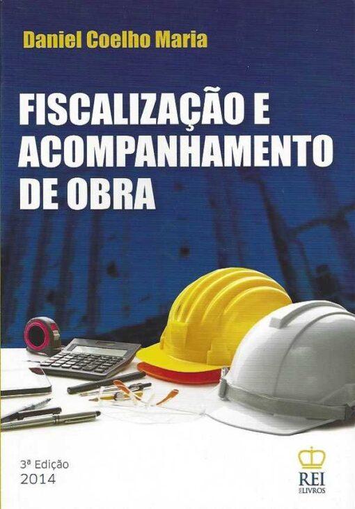 capa do Livro Fiscalização e Acompanhamento de Obra