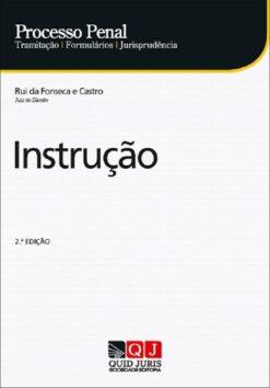 capa do livro Processo Penal – Instrução