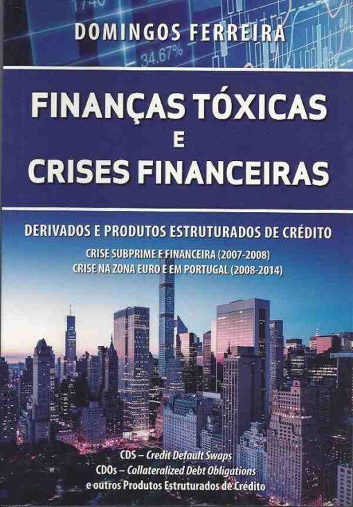 capa do livro Finanças Tóxicas e Crises Financeiras