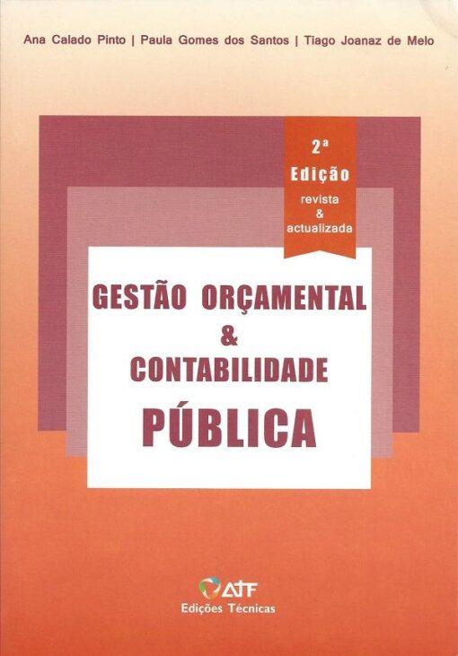 Capa do Livro Gestão Orçamental & Contabilidade Pública 2.ª Edição