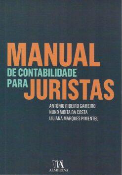 capa do livro Manual de contabilidade para juristas