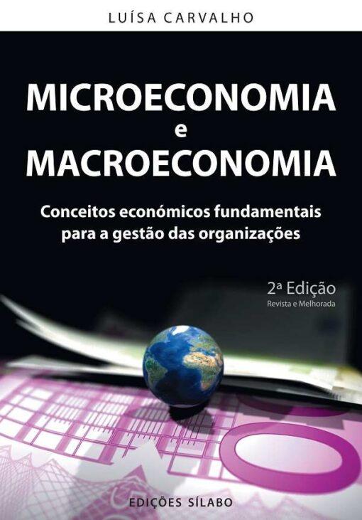 capa do livro Microeconomia e Macroeconomia