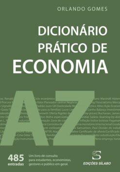 capa do livro Dicionário Prático de Economia