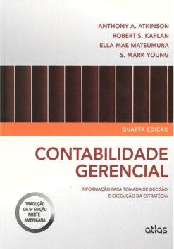 capa do livro contabilidade gerencial