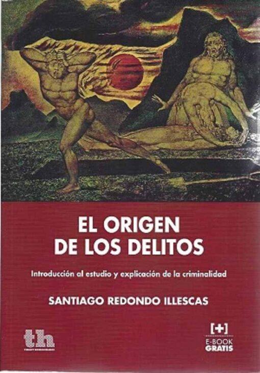 capa do livro el origen de los delitos