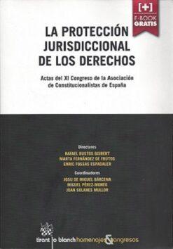 capa do livro la protección jurisdiccional de los derechos