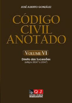 capa do livro Código Civil Anotado – Volume VI
