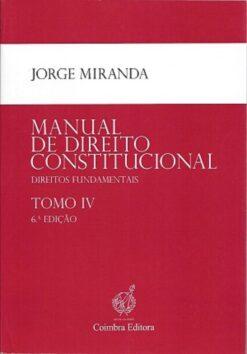 capa do livro Manual de direito Constitucional
