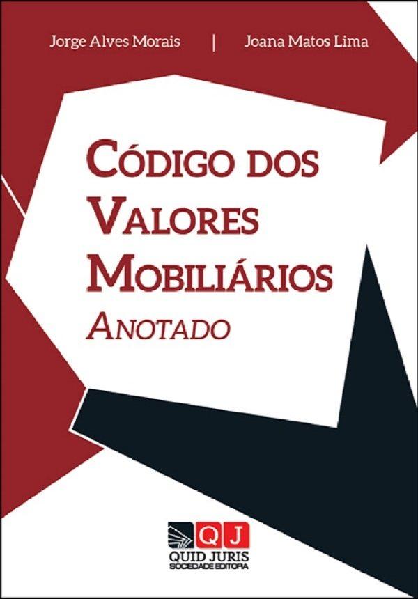 capa do livro Código dos Valores Mobiliários
