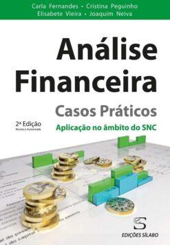 capa do livro analise financeira casos praticos