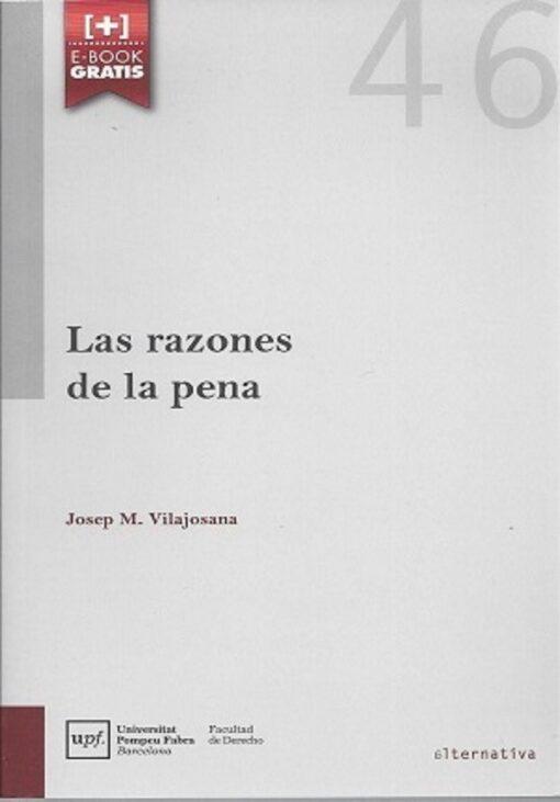 capa do livro las razones de la pena