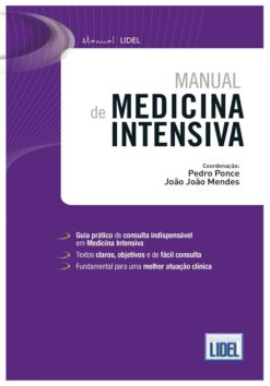 capa do livro Manual de Medicina Intensiva