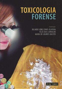 capa do livro toxicologia Forense