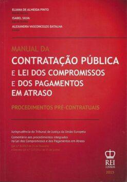 capa do livro Manual da Contratação Pública