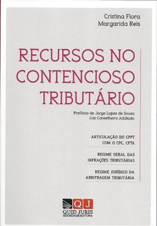 capa do livro Recursos do Contencioso Tributário
