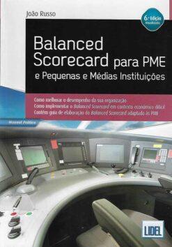 capa do livro Balanced Scorecard para PME e Pequenas e Médias Instituições
