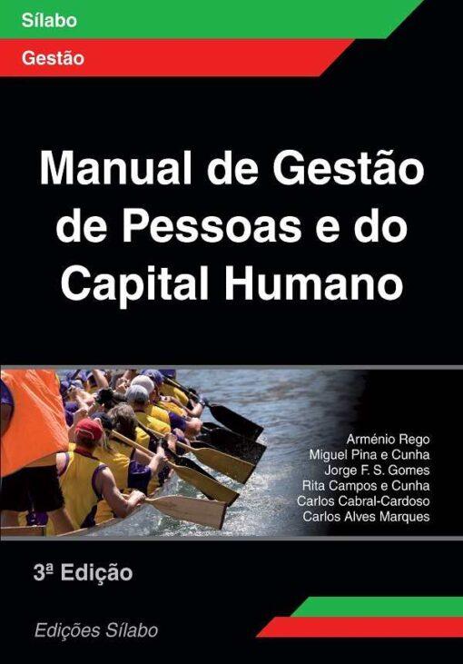 capa do livro Manual de Gestão de Pessoas e do Capital Humano