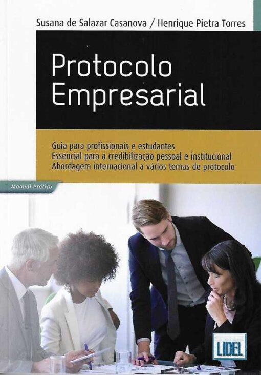 capa do livro Protocolo empresarial