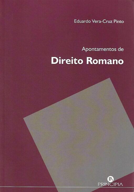capa do livro Apontamentos de Direito Romano