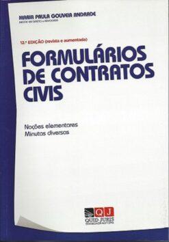 capa do livro Formulários de Contratos Civis