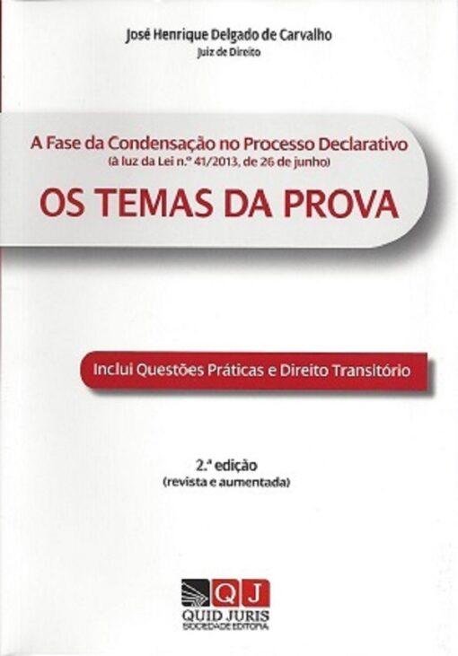 capa do livro Os Temas da Prova