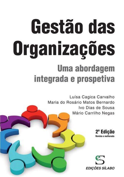 capa do livro Gestão das Organizações Uma abordagem integrada e prospetiva