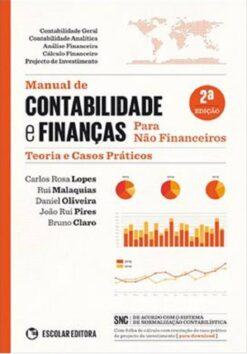 capa do livro Manual de Contabilidade e Finanças Para Não Financeiros