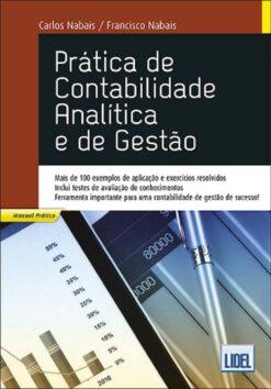 capa do Livro Prática de Contabilidade Analítica e de Gestão