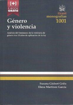 capa do livro genero y violencia
