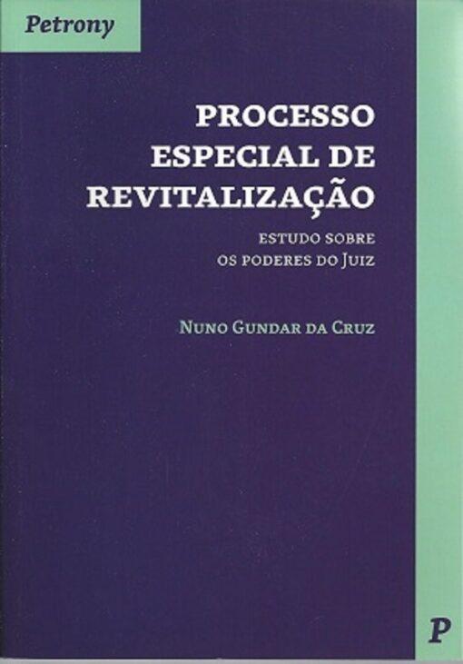 capa do livro processo especial de revitalização