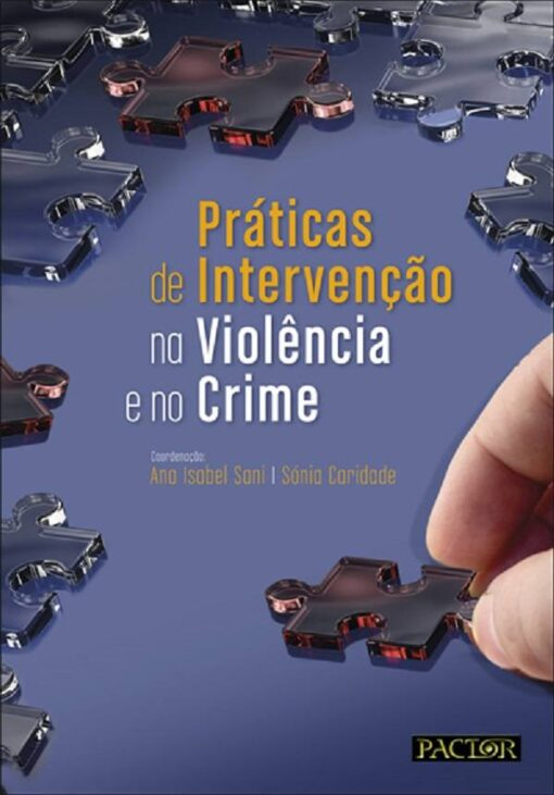 capa do livro Práticas de Intervenção na Violência e no Crime