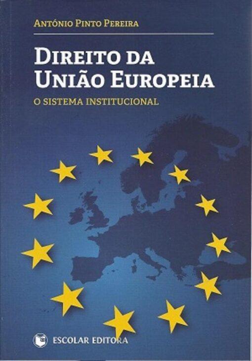 capa do livro Direito da união europeia